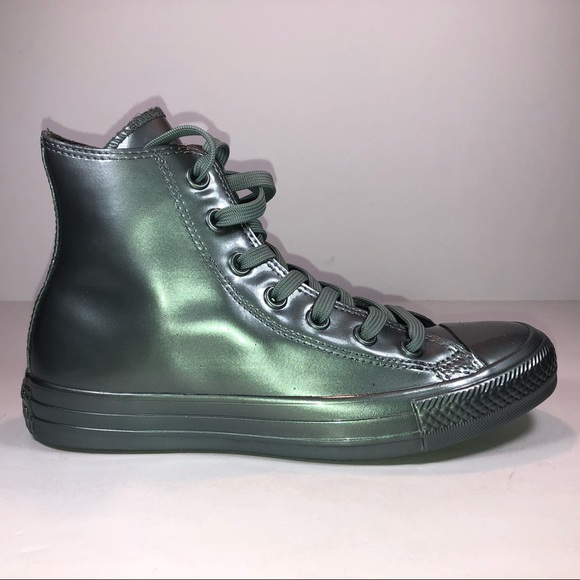 a2a60e7db06fd2 Converse CTAs Rubber HI Metallic Glaciers Sneakers